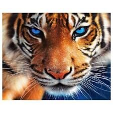 Full Square Diamond 5D DIY Diamond Painting Tiger Embroidery Cross Stitch TN2F