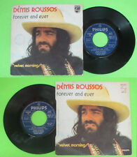 LP 45 7'' DEMIS ROUSSOS Forever and ever Velvet morning 1973 italy no cd mc dvd*