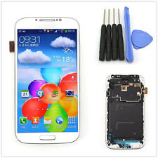 For Samsung Galaxy S4 I9500 Full LCD Touch Screen Glass Panel Digitizer & frame