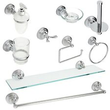 Wall Mounted Bathroom Accessories Chrome | Fidelity