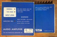 EST / IRC-3 AA75T-25 AUDIO AMPLIFIER FIRE ALARM EDWARDS FAST