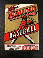 1992 Bowman Baseball Single Pack Fresh from Box- Rivera, Piazza, Ramirez RC Year