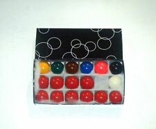 """PowerGlide 1 1/2"""" (3.81 cm) Snooker Sfere 17 PZ Set per uso domestico tabella"""