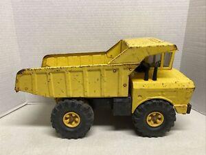 1969-1970 Mighty Tonka Yellow Construction Dump Truck