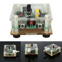 Assembled DC 9-13.8V S-PIXIE CW QRP Shortwave Radio Transceiver 7.023MhZ + Case