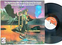 Mysterious Film World of Bernard Herrmann - London LP Vinyl Record Album