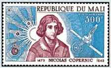 Timbre Cosmos Personnages Copernic Mali PA177 * lot 22216
