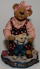 Boyds Bears, Momma, Taylor, Mother, Baby First Steps #227768, toddler, NIB
