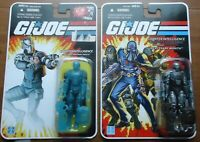 G.I. Joe Wraith 25th Anniversary 2008 lot with foreign card MOC FREE SHIPPING