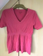Ladies pink breathable base layer or sports top / by Falke size L (18)