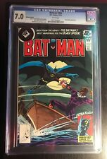 Batman #306 CGC 7.0 Whitman variant Black Spider appearance. white pages