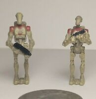 Galoob Micro Machines Star Wars Action Fleet Battledroid V1 - Lot of 2