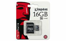 Class 4 Kingston 16GB Micro SD Flash Memory card for Pentax Samsung Camera