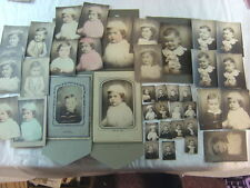 Lot of 39 Vintage Photos Cute Baby Boy in Photobooth Portrait 770039