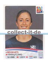 Panini Frauen WM World Cup 2015  - Sticker 82 - Loes Geurts