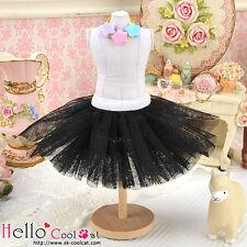 ☆╮Cool Cat╭☆147.【PC-06】Blythe/Pullip Tulle Ball Mini Skirt # Black