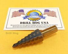 Drill Hog 6-18mm Metric Step Bit Multi Drill Bit MM UNIBIT M7 Lifetime Warranty