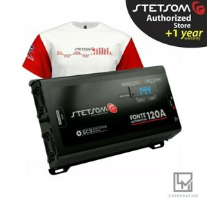 Stetsom Power Supply Charger Infinite 120A Car Audio 3 Day Delivery