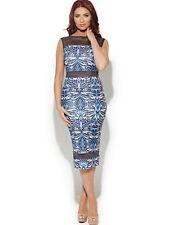 BNWT Amy Childs Barclay Mesh Insert Midi Pencil Occasion Evening Dress 14