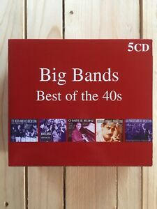 Big Bands. Best Of The 40s. 5 Disc Set