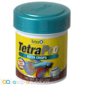Tetra Pro Betta Crisps 0.81oz (23g) Betta Fish Food Natural Color Enhancing