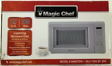 Magic Chef .7 Cu. Ft. 700 Watts Countertop Microwave Oven