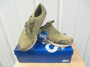 ASICS GEL LYTE III HL7W0 CAMOFLAUGE SIZE 12 NEW IN BOX OLIVE GREEN