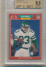1989 Pro Set Football Jo Jo Townsell (#309) (Sub Grades 1-9/3-9.5's ) BGS9.5 BGS