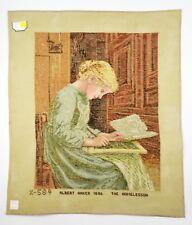 Lindhorst Tapisserie Needlepoint The Home Lesson Albert Anker Wall Tapestry Art