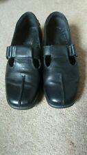 Hotter black leather Sunrise shoes size 5.5