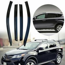4 x Weather Side Window Deflectors Fit For Toyota Rav4 2013-2018 AE88VW