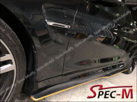 BMW F82 PSM STYLE SIDE SKIRT CARBON EXTENSION ADD ON LIP FOR M4