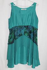 cocon.commerz PRIVATSACHEN  FILTERRA Kleid aus Seid in türkis Gr. 2