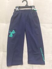 New Under Amour Athletic Blue Pants Size 2 Toddler Logo