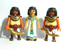 Playmobil 3 Egyptian Figures - Cleopatra and 2 Guards