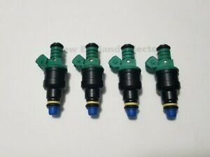 Reman Bosch 0280150804 Fuel Injector Set (4) Volvo 940 740 2.3l Turbo