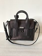 3.1 Phillip Lim Women's Black And Bronze Metallic Leather Pashli Mini Satchel