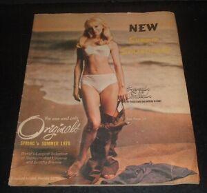 LQQK vintage 1970 ORIGINALS CATALOG ladies lingerie & bikinis