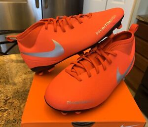NIKE KIDS YOUTH PHANTOM VISION CLUB DF MULTIGROUND SOCCER CLEATS SHOES 1Y $50