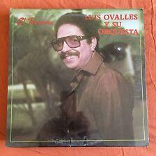 """LP VINYL 12"""" LATINO FUNK DESCARGA SALSA LUIS OVALLES Y SU ORQUESTRA EL TEOREMA"""