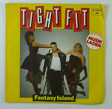 """7"""" Single - Tight Fit - Fantasy Island - S789 - washed & cleaned"""