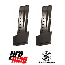 2 PACK ProMag 10-RD Steel Magazine SMI28 for Smith & Wesson Extended Shield 9mm