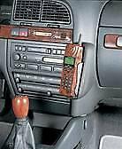 Kuda Telefonkonsole 087040 Halterung Citroen Xantia ab 2/98 Echtleder schwarz