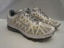 Nike Men Shoe Air Max 2011 Size 13M Silver Athletic Running Sneaker Pre Owned