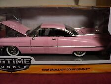 Jada 1959 Cadillac Coupe deville 1/24 scale NIB 2016 release pink exterior
