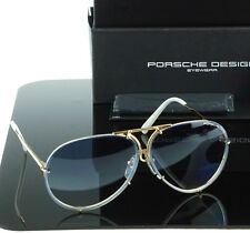 NEW Genuine PORSCHE DESIGN Titanium Gold Blue Aviator Sunglasses P 8478 W 69 MM
