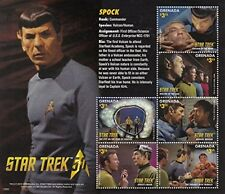 Grenada - 2016 Star Trek 50th Anniversary Spock - 6 Stamp Sheet