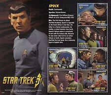 Grenada - 2016 Star Trek 50th Anniversary Spock - 6 Stamp Sheet