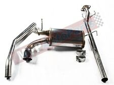 Stainless Steel Cat-Back Exhaust System 11-15 Nissan Juke 1.6L Turbo FWD 2.25""