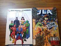JLA DC Comic Lot Of 2,(ultramarine corps)(the tenth circle).